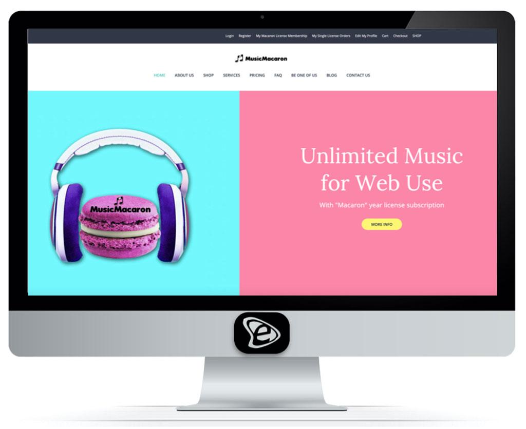 Music Macaron E-commerce - E-Marketing Clusters