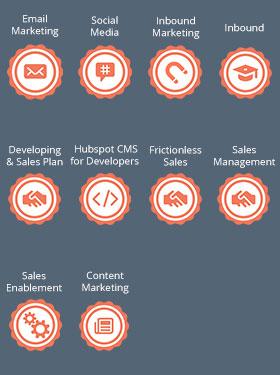 Hubspot Certifications - E-Marketing Clusters