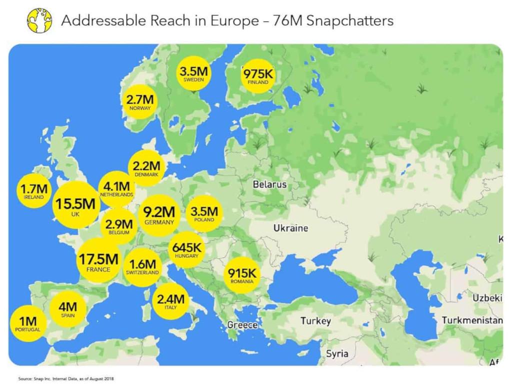 Snapchat: ανακαλύψτε την εμβέλεια της διαφήμισης στον κόσμο! - E-Marketing Clusters
