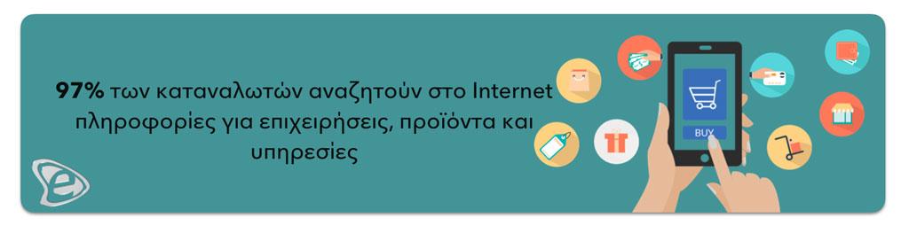Οι άνθρωποι ψάχνουν στο Internet - E-marketing Clusters