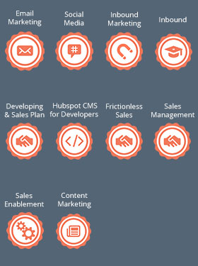 Hubspot Certifications - E-Marketing Clusters