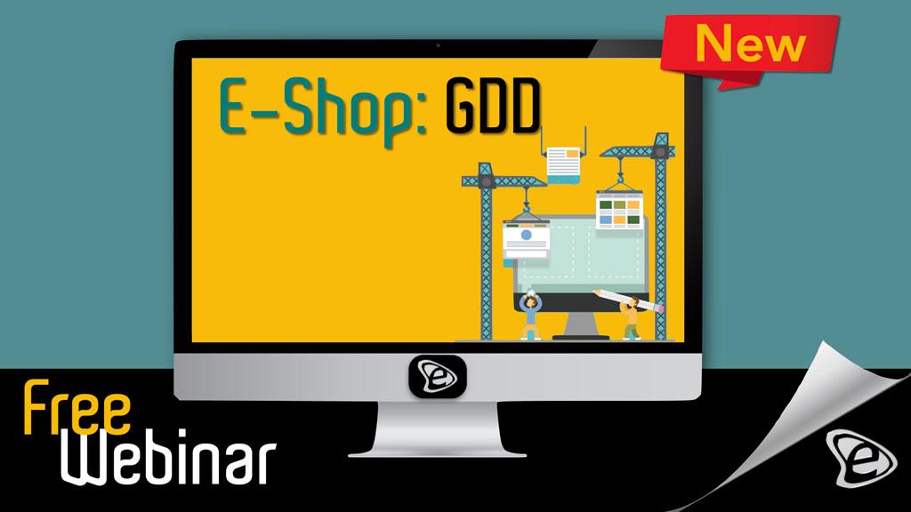 Free Webinar: E-Shop GDD: Το E-Shop που δεν παλιώνει ποτέ! - E-Marketing Clusters