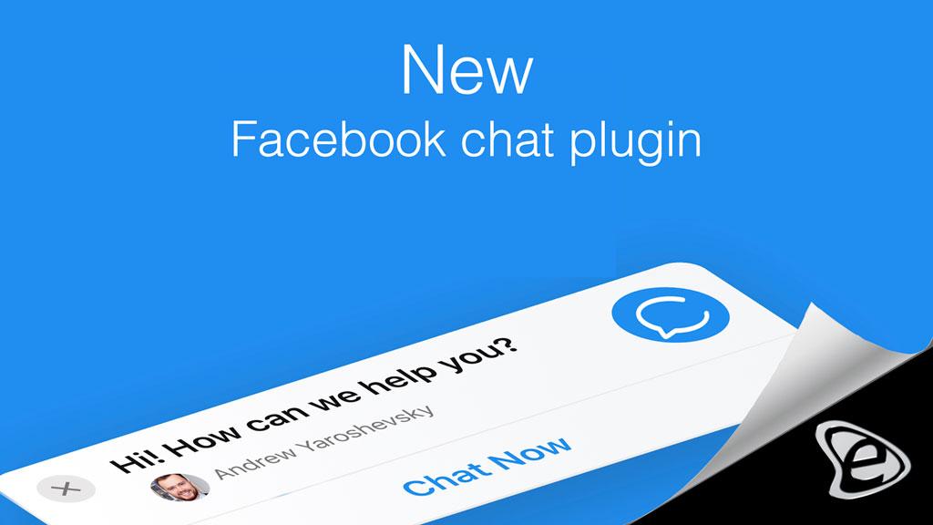 Νέο Facebook Chat Plugin για Αύξηση Πωλήσεων - E-Marketing Clusters